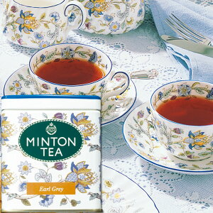 ミントンティー アールグレイ 80g缶入り [伝統を受け継いだ本格的な英国紅茶 MINTON TEA] | ミントン 森半 紅茶 茶 お茶 ティー 茶葉 プレゼント ギフト 水出し 水だし 水出し紅茶 美味しいお