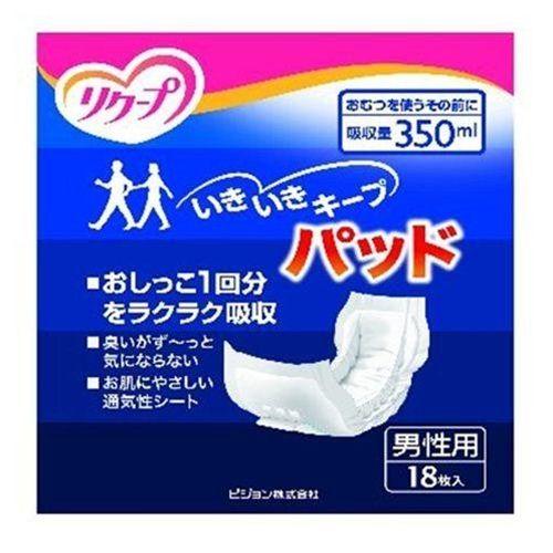 リクープ いきいきキープパツド 男性用 (18枚入)