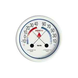 温度計 食中毒注意ゾーン付温湿度計 5488 Nホワイト
