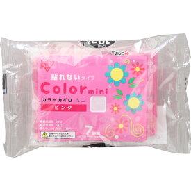 カラーカイロ 貼れないタイプ ミニサイズ ピンク 10個入