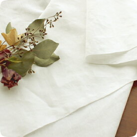 【ワイド幅】 生地の森 コルトレイクリネン交織・平織りソフトタンブラー仕上げ50cm単位