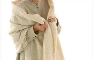 生地の森洗いこまれた綾織リネンウール50cm単位布無地厚手おしゃれ