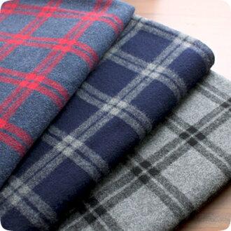 015eab61d Kiji no mori: Cloth cloth | 先染 top cotton-silk fabric 30/2 shaggy check |  Rakuten Global Market