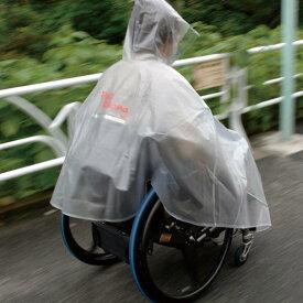 車椅子レインコート・雨ポンチョ・雨具 M・Lサイズ 【車椅子レインコート】【ポンチョ】【ピロレーシング】