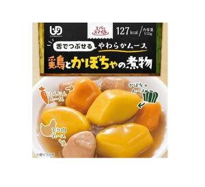介護食 エバースマイル 鶏とかぼちゃの煮物風ムース【5箱セット】※区分3 下でつぶせる