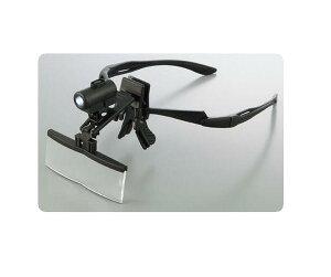 メガネ型LEDライト付きルーペRX-4900LE標準レンズ【拡大鏡】【LEDライト】【ルーペ】