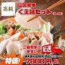 送料無料 山口県産 天然 くえ鍋(クエ鍋)セット! スープ付き! ギフト 父の日 のし対応 高級魚 (くえ)(くえ鍋)(父の…