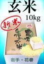 令和元年産 新米 ひとめぼれ 10kg 玄米 送料無料  岩手県 農家直送 生産直売 ギフト