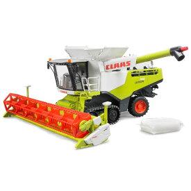 車のおもちゃ 農業 トラクター はたらく車 ミニカー BRUDER ブルーダー Claas(クラース)Lexion 780コンバインハーベスター 02119