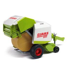 車のおもちゃ 農業 トラクター はたらく車 ミニカー BRUDER ブルーダー Claas クラース Rollant 250ストローベーラー 02121
