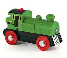 木のおもちゃ 木製レール 汽車 BRIO(ブリオ)バッテリーパワー機関車 33595【電動車】