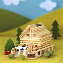 木工 工作キット ログハウス貯金箱 【あす楽】アイスタジオ メルヘンログ 田舎ものがたり A82
