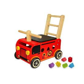 アイムトイ ウォーカー&ライド 消防車 IM-87480