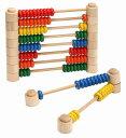 木のおもちゃ 知育玩具【あす楽】プレイミートイズ カウンティングビーズ M0802