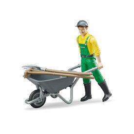 BRUDER 農業作業員フィギュアセット 62610
