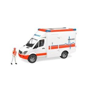 BRUDERMB救急車(フィギュア付き)02536