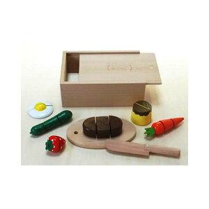 ままごと キッチン 木製 木のおもちゃのだいわ 包丁屋さん Bセット 97966