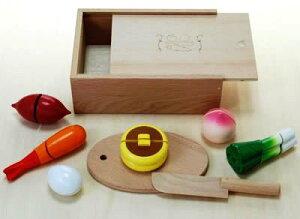 ままごと キッチン 木製 木のおもちゃのだいわ 包丁屋さんDセット 97960