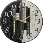 ザッカレラ置時計(クオーツ)(陶器:イタリア製)ZC144-004[送料無料]