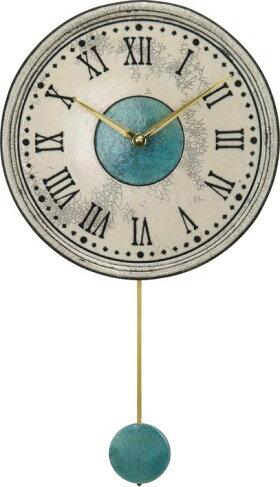 ザッカレラ掛時計(振り子付き)クオーツ(イタリア製)ZC121-003[送料無料]
