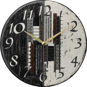 ザッカレラ掛け時計(クオーツ)(陶器:イタリア製)ZC186-003[送料無料