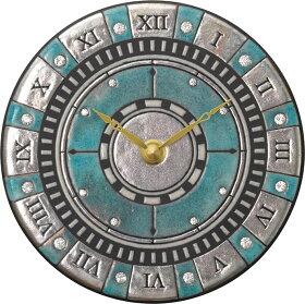 ザッカレラ掛時計(クオーツ)(陶器:イタリア製)ZC905-004[送料無料]