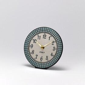 ザッカレラ掛時計(クオーツ)(陶器:イタリア製)ZC924-004[送料無料]