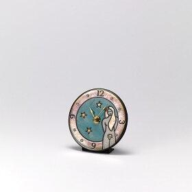 ザッカレラ掛時計(クオーツ)(陶器:イタリア製)ZC938-004[送料無料]