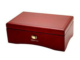 50弁オルゴール オルフェウス クルピシャ材ボックス ワインレッド EX-237[送料無料]
