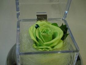 薔薇のプリザーブドフラワーオルゴール(薔薇の色:ブルー)