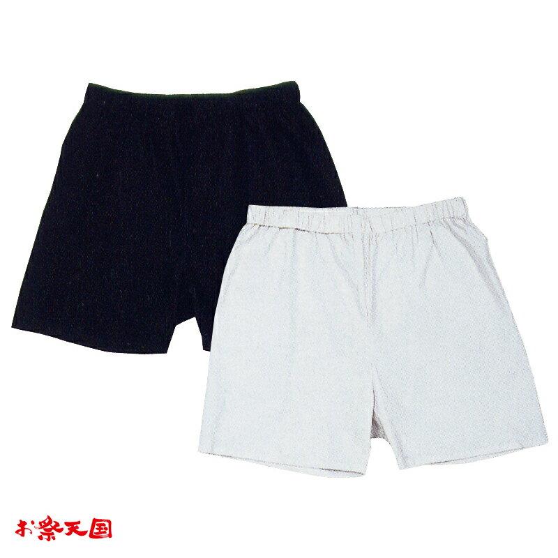 【お祭り用品】祭り用パンツ 大人用 黒・白 C76051・76052