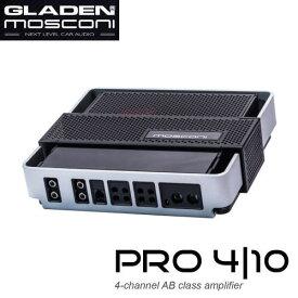 GLADEN MOSCONI(グラデン モスコニ) GLADEN PRO 4/104チャンネルAB級アンプ【保証書付き】