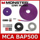 MONSTERCABLE(モンスターケーブル)MCABAP5004ゲージパワーアンプ接続キット
