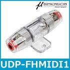 μ-DIMENSION(ミューディメンション)UDP-FHMIDI1MIDIヒューズホルダー