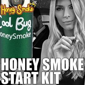 電子タバコ スタートキット HONEY SMOKE ハニースモーク Cool Bug グリーン 健康的なノーニコチンの無害なリキッドを使用 アメリカン雑貨/アメリカ雑貨/アメ雑貨