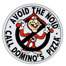 【メール便 ゆうパケット299円】 ミニレーシングステッカー Domino Pizza ドミノピザ NOID アメリカ雑貨/アメ雑貨/ガレージ/シール/ステッカー/ヘルメット/車/バイク/自転車