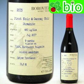 ブルガリア(赤)ピノ・ノワール&ガメィ[2015]ボロヴィッツァ Pinot Noir & Gammay Late Harvest Borovitza【あす楽_土曜営業】