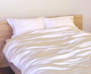 肌を痛めないシルク100%枕カバー 川俣サテンシルク ピローケース 43×63cm 封筒タイプ 絹100% 日本製 【送料無料】 枕カバー まくらカバー マクラカバー ピローカバー