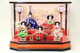 雛人形 おしゃれ ケース飾り アクリルケース 芥子サイズ 花音ケース No309