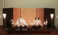 アート&デザイン後藤由香子作フィール創作雛人形平飾り【雛人形親王飾り】入荷次第の発送です。