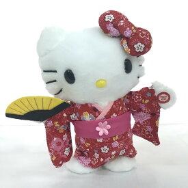 ギフト プレゼント ハローキティ キティちゃん ものまねぬいぐるみ 踊るこえマネ ハローキティ日本人形 HELLO KITY 日本限定 ぬいぐるみ 声 マネ キティ 真似