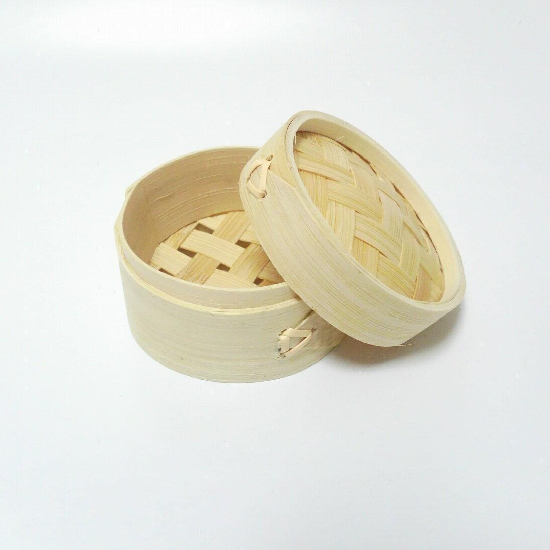 セイロ小物入れ10個セット【 せいろ 竹 自然素材 小物 アクセサリ 置物 餃子 シュウマイ 中華 】