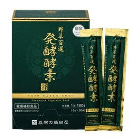 豆腐の盛田屋 野草百選 発酵酵素 180g(6g×30袋)