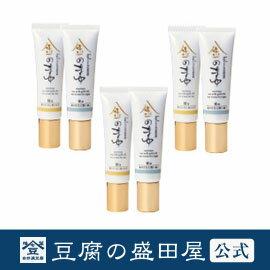 【豆腐の盛田屋 公式】豆乳シルク目元美容液 金のまゆ 3個セット