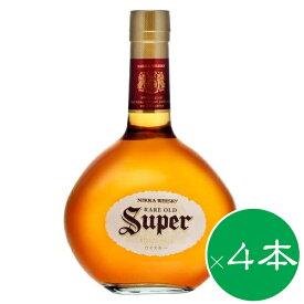 スーパーニッカ 700ml ×4本セット 送料無料【ウイスキー】国産ウイスキー 洋酒 プレゼント お返 お返し 内祝 御供 御中元 お中元 父の日