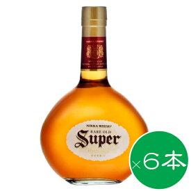 スーパーニッカ 700ml ×6本セット 送料無料【ウイスキー】国産ウイスキー 洋酒 プレゼント お返 お返し 内祝 御供 御中元 お中元 父の日
