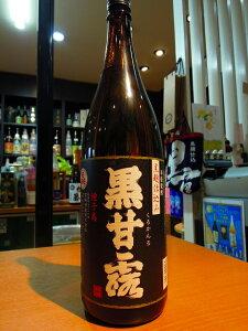 黒甘露 黒麹仕込み 種子島産さつまいも使用 25度 1800ml 高崎酒造
