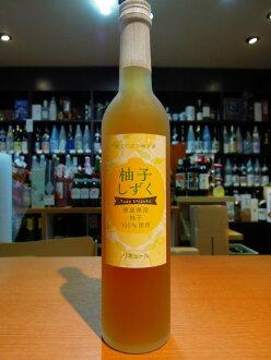 유자나무 물방울만 카미토쿠도현산 유자나무100% 500 ml 10도(리큐어)