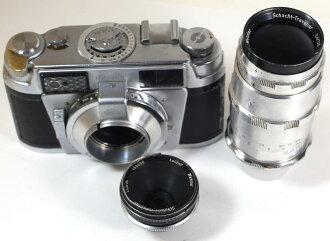 독일제 카메라레이드르후로드맛트 SLE +샤트 렌즈 2개 Leidolf Lordomat SLE + 2 Schacht lenses