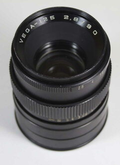 구소련제 렌즈 베가 125 2.8/90 mm펜타콘 6용 VEGA-125 2,8/90 for Pentacon Six